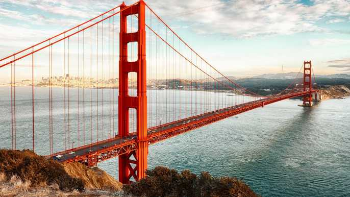 Golden Gate Bridge San Francisco - Bestill billetter og turer |  GetYourGuide.no