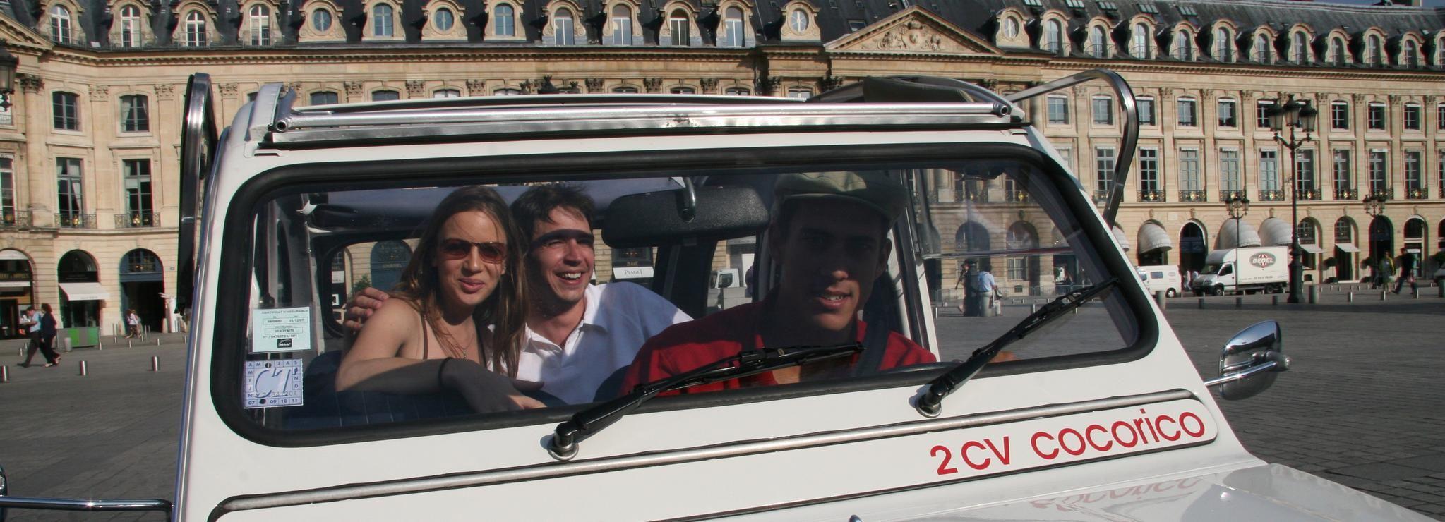 Versailles Trip from Paris in Citroen 2CV