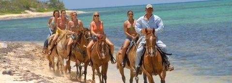 Horseback Beach Riding in the Grand Cayman