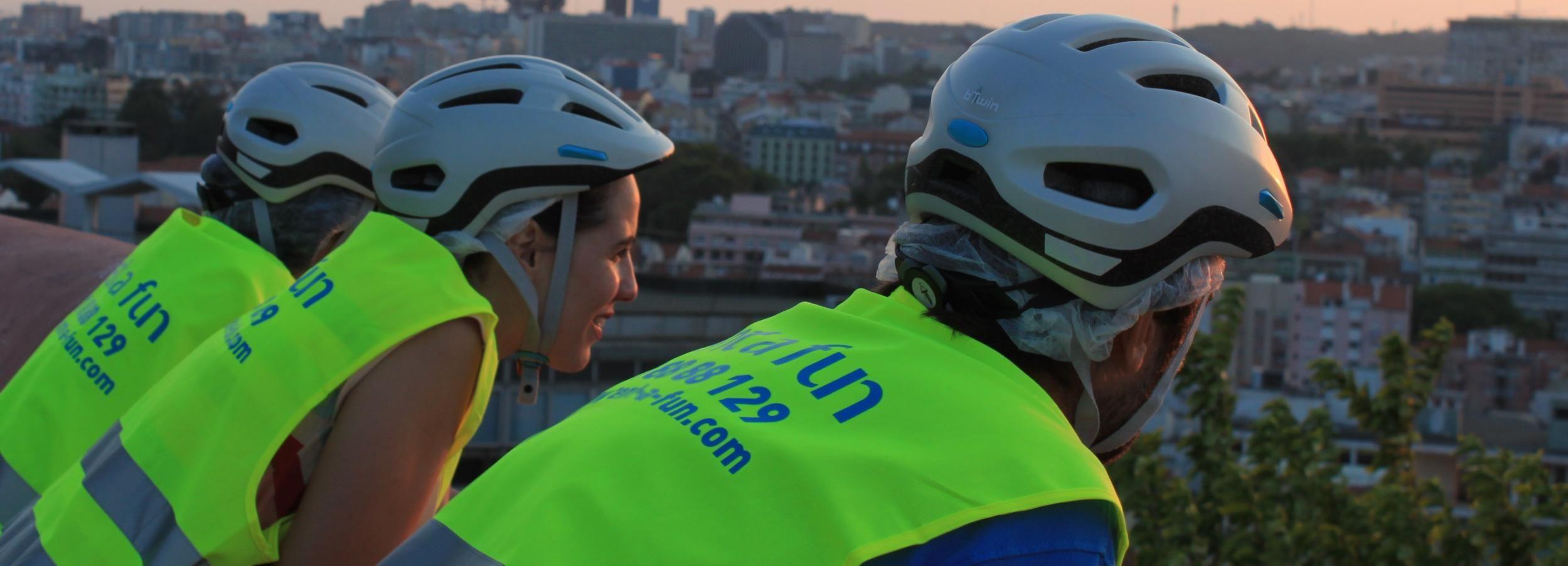 Lisboa: Excursão de Bicicleta Elétrica à Noite