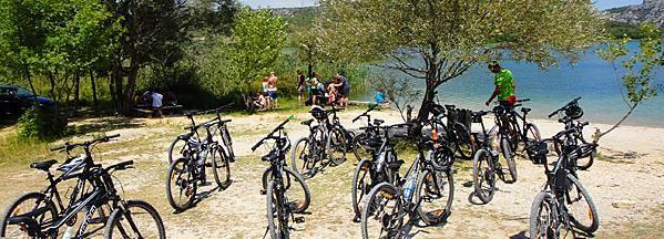 From Skradin: Full-Day Cycling in Krka National Park