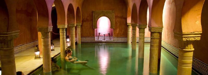 Granada: Tagestour Alhambra und Hammam-Besuch