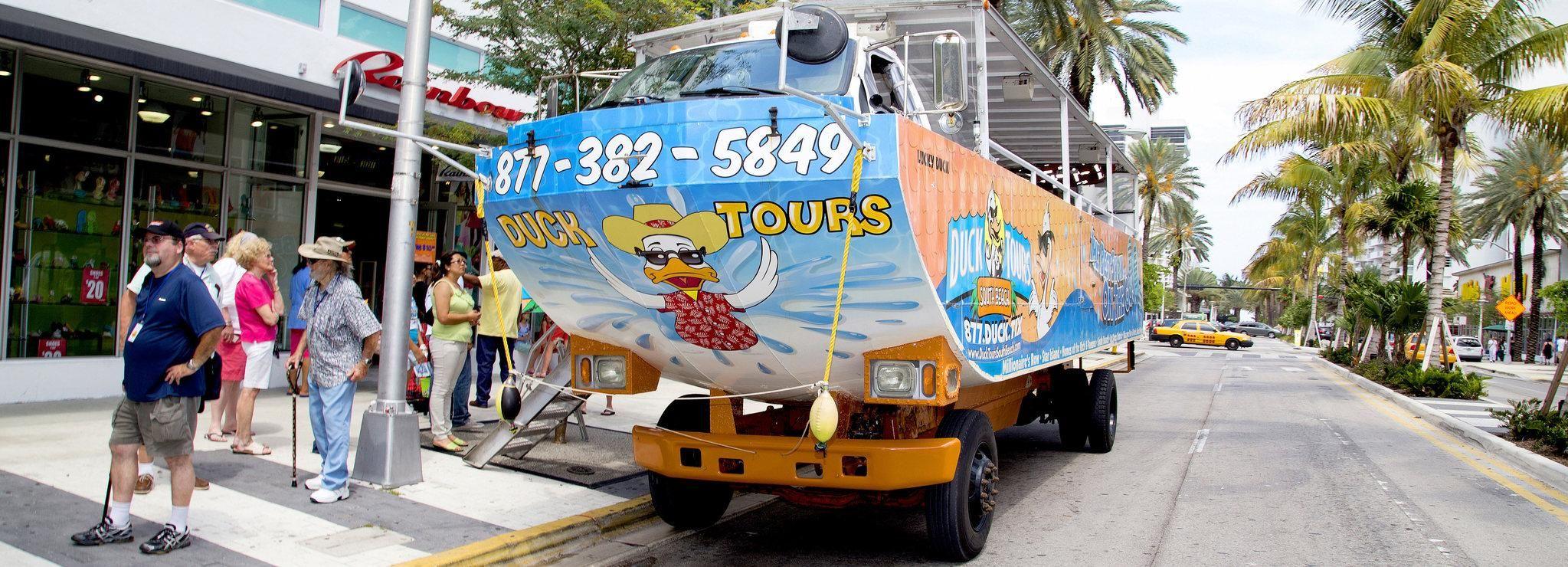 Splashdown: Duck Tour of Miami and South Beach