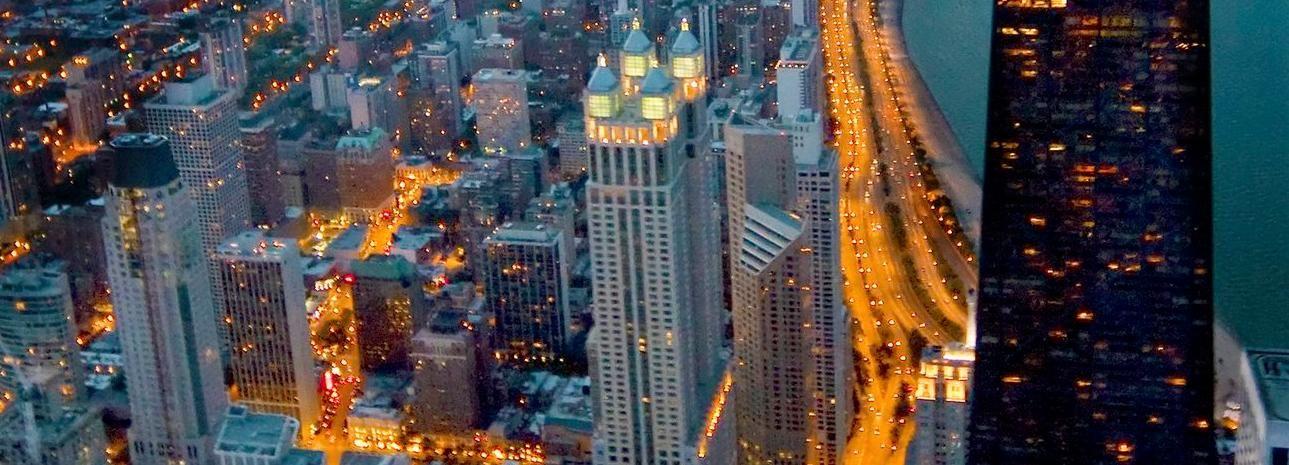 """360 Chicago Aussichts-Deck: 2 Besuche """"Sonne und Sterne"""""""