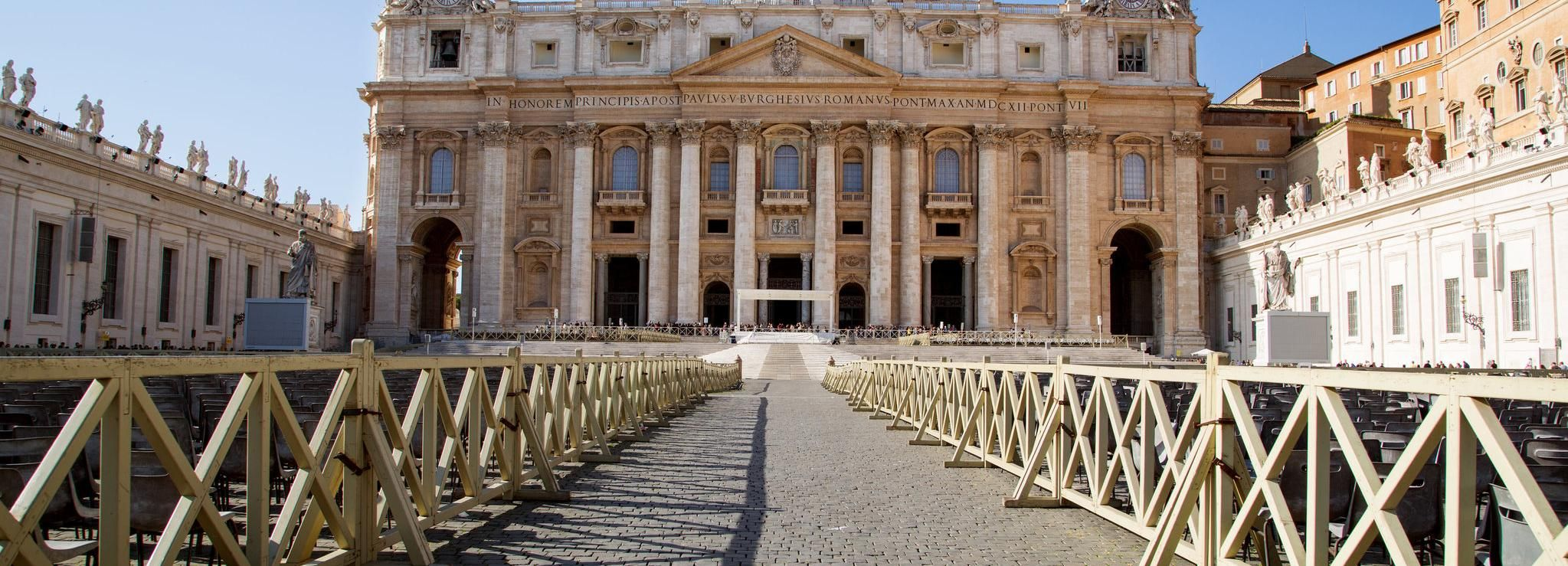 St. Peter's Basilica Guided Tour: Reserved Entrance