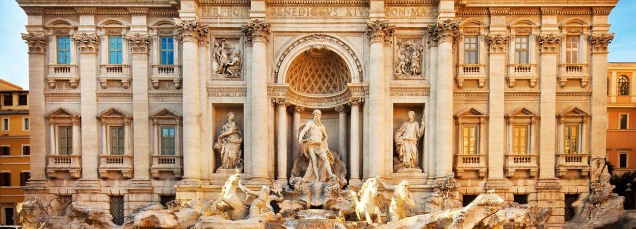 Rome: visite à pied de 2h des fontaines et places