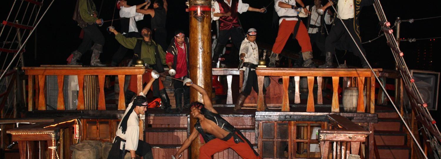Puerto Vallarta: Pirates of the Bay Dinner Cruise