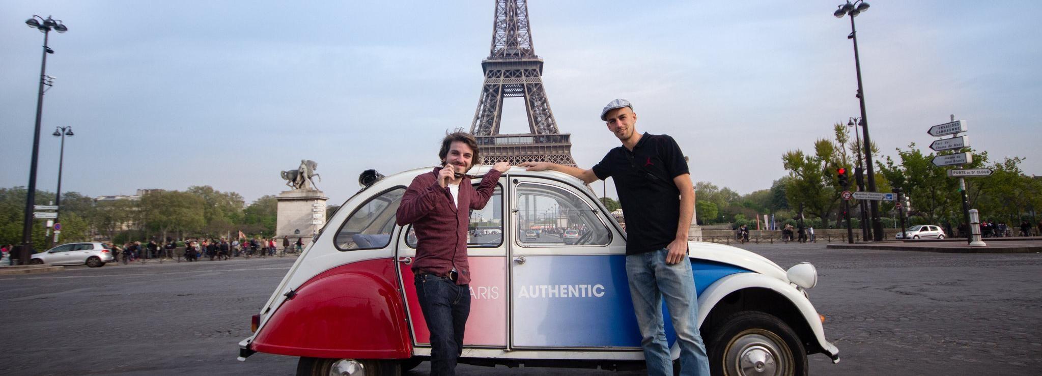 Paris: Classic Sites Tour by Vintage Citroen 2CV