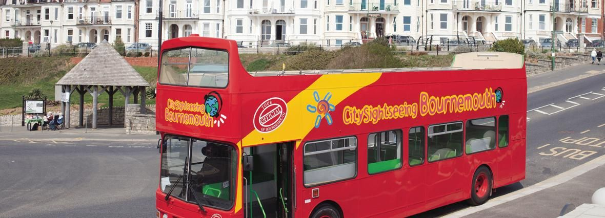 City Sightseeing Bournemouth Hop-On Hop-Off Bus & Boat Tour