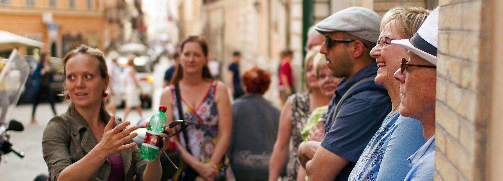 Rome: Twilight Walking Tour and Gelato Tasting