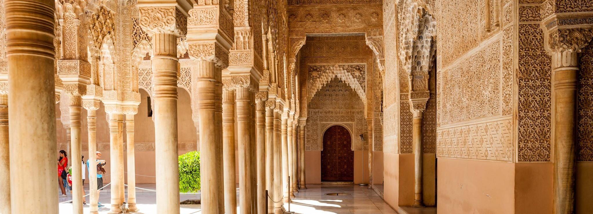 Alhambra & Generalife einschließlich Fahrt und Eintritt