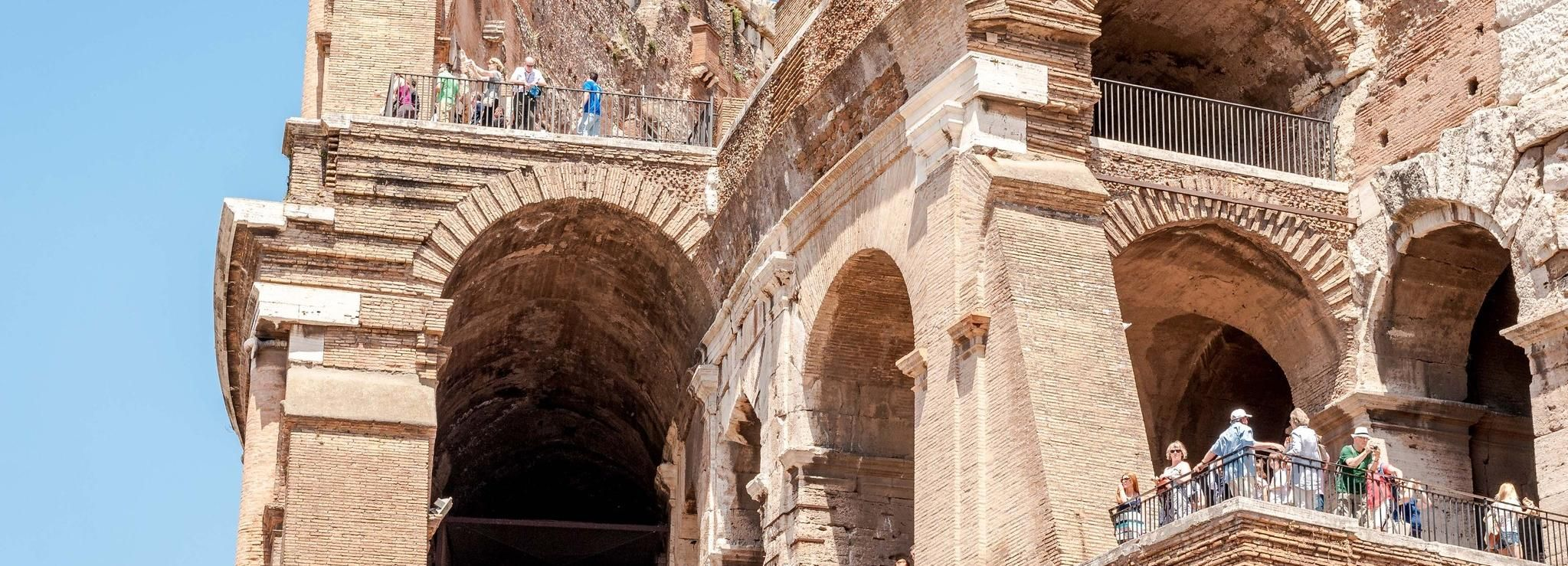 Rom: Kolosseum, Forum Romanum & Navona-Tour ohne Anstehen