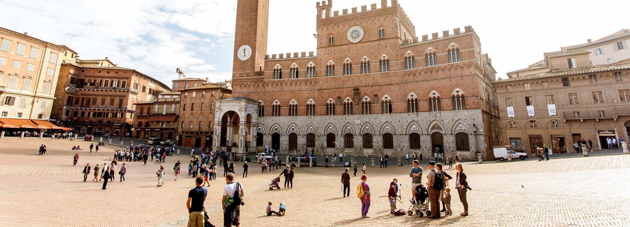 Ab Florenz: Tour nach Siena, San Gimignano und Monteriggioni