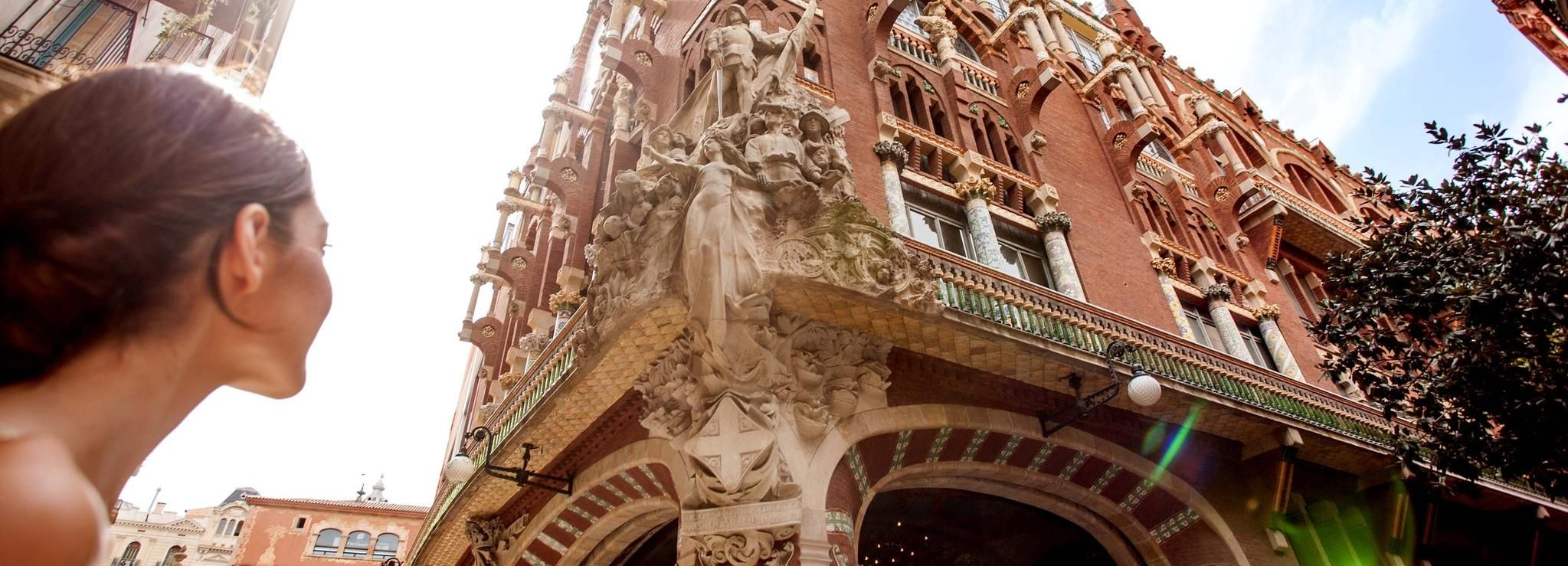Barcellona: tour guidato al Palau de la Música