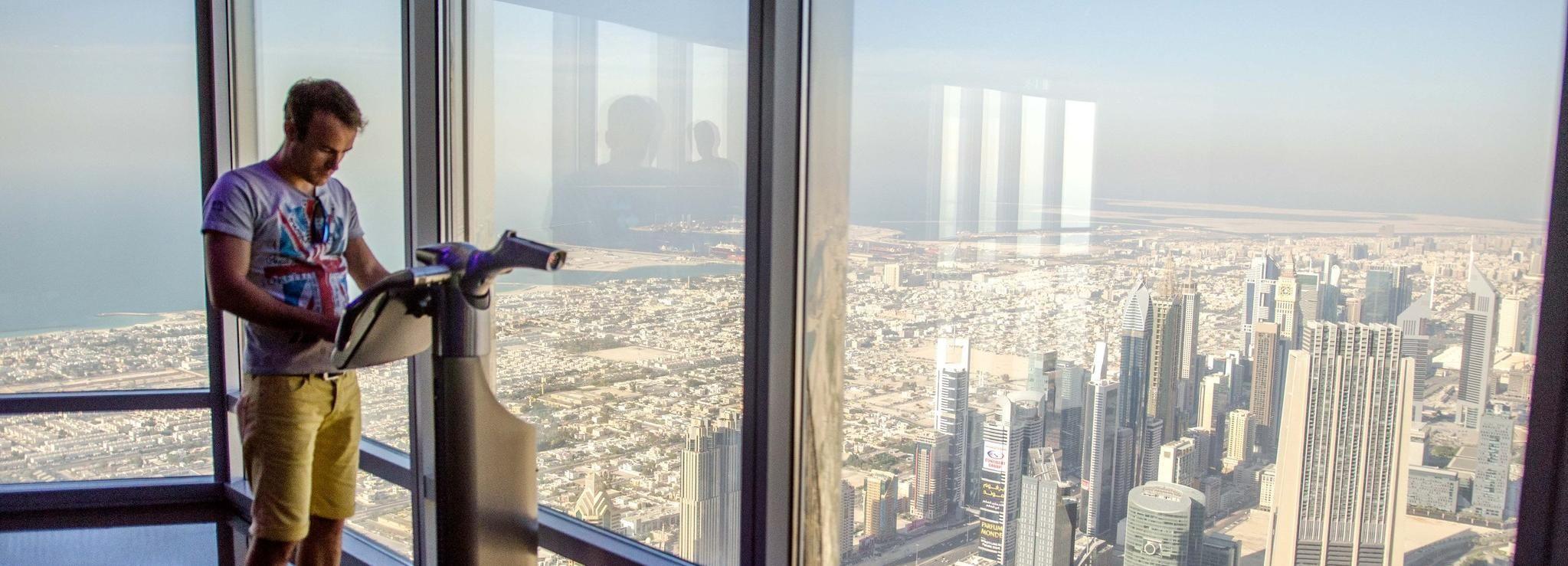 Burj Khalifa: billet pour les 124e, 125e et 148eétages