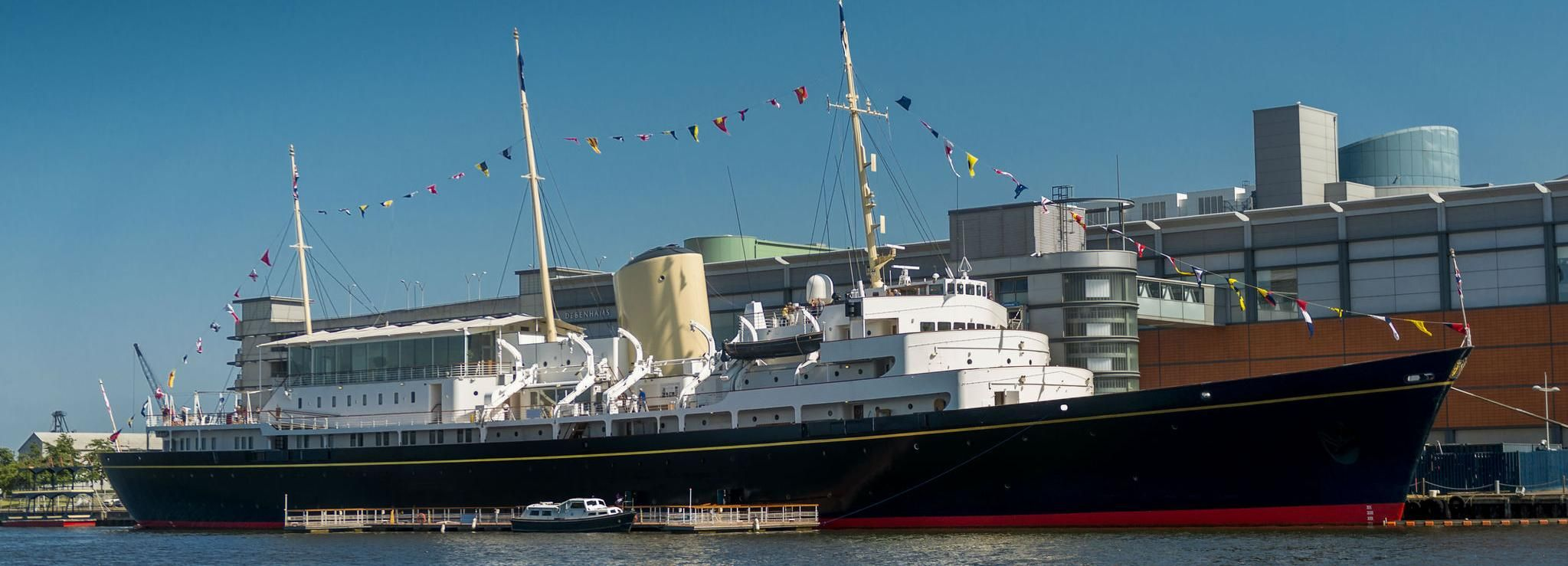 Edinburgh: Royal Yacht Britannia ticket & audiogids