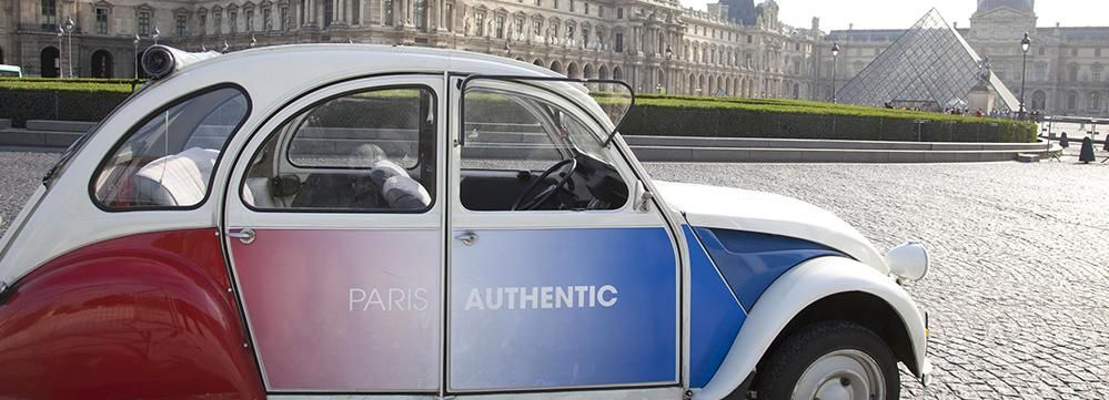 Off-the-Beaten Track in Paris: 2-Hour Vintage 2CV Tour