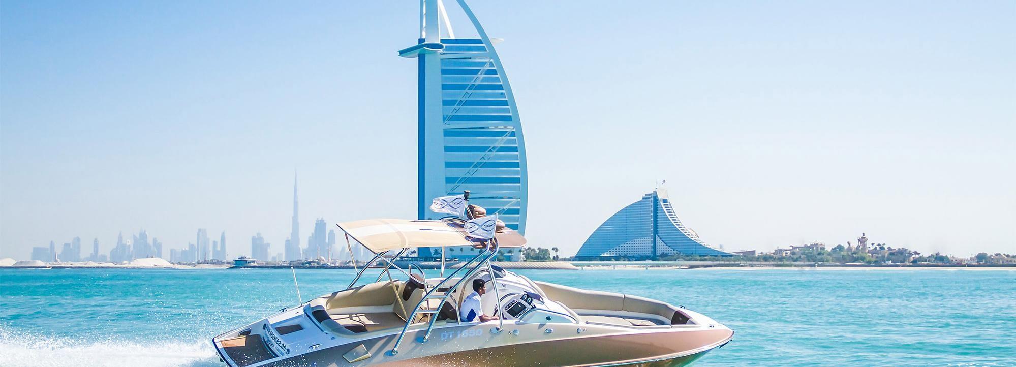 Dubaï: croisière privée dans la marina et Palm Jumeirah