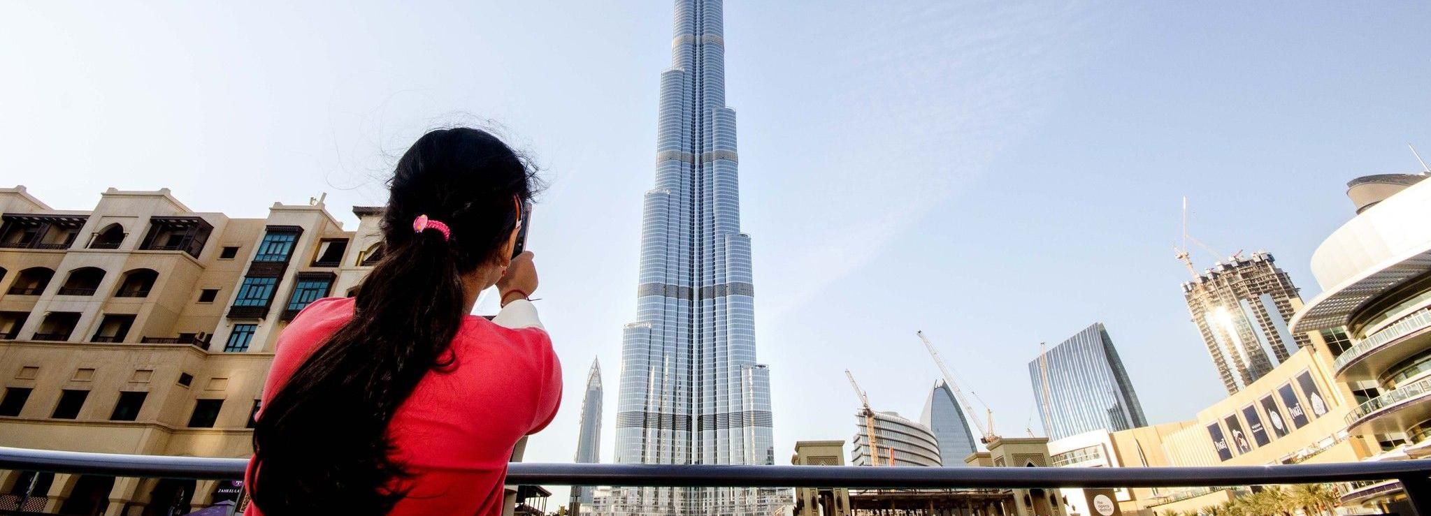 Dubaï: billet pour les 124e et 125eétages de Burj Khalifa