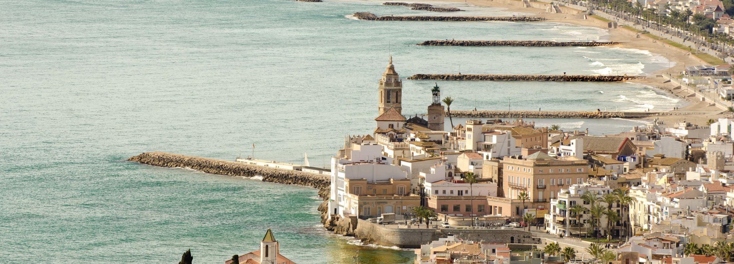 Ab Barcelona: Private 5-stündige Tour nach Sitges