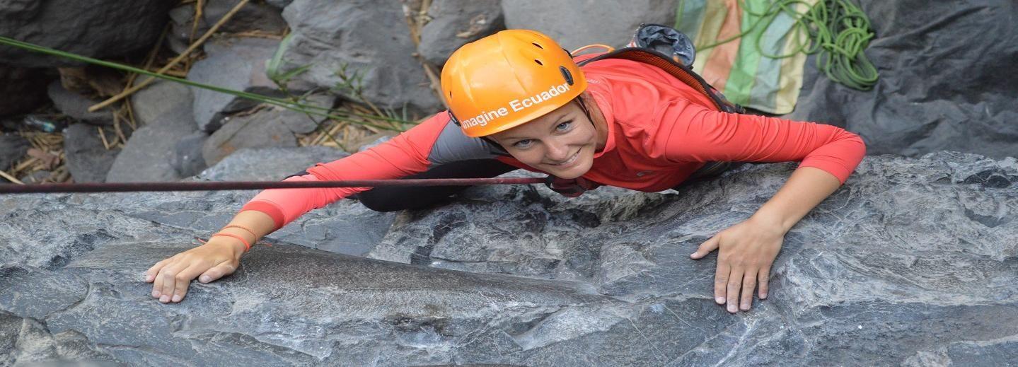 Ecuador: Half-Day Guided Rock Climbing Tour