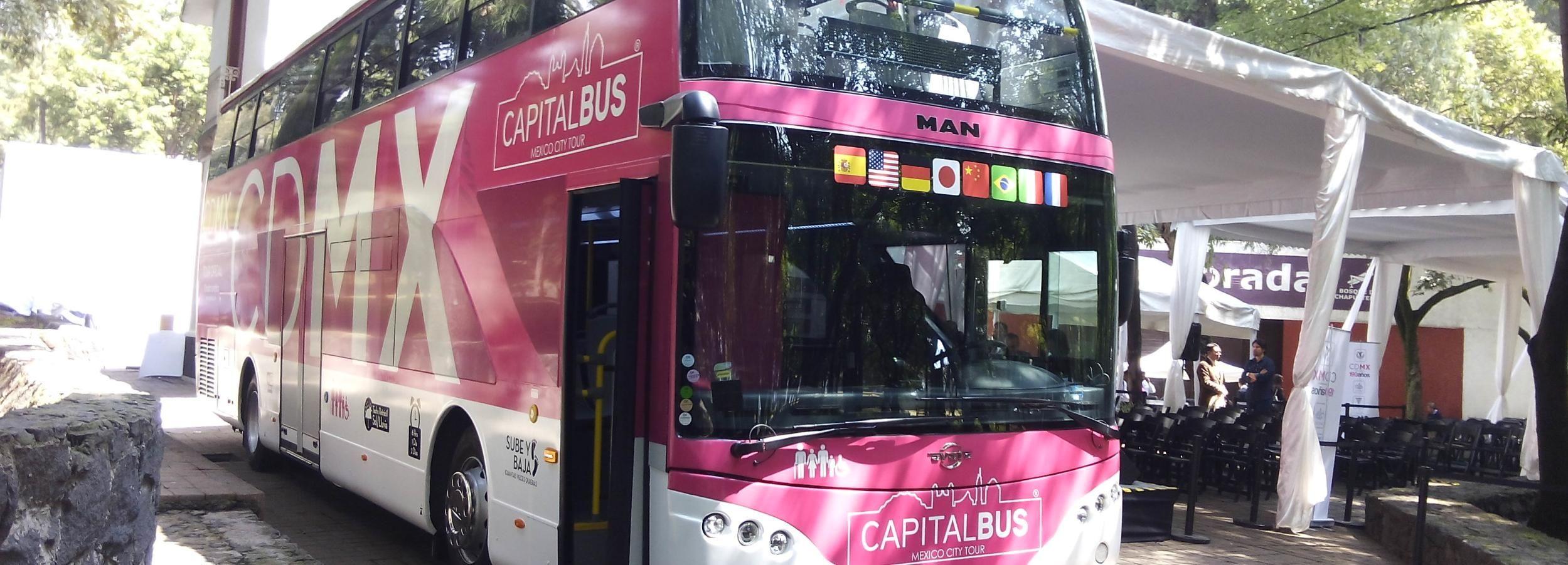 Ciudad de México: pase de 1 día al autobús turístico