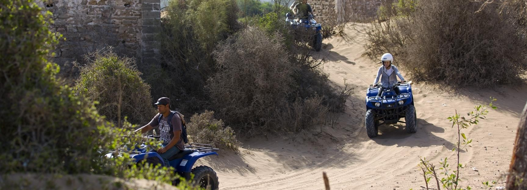 Essaouira: Full-Day Quad Biking Adventure with Lunch