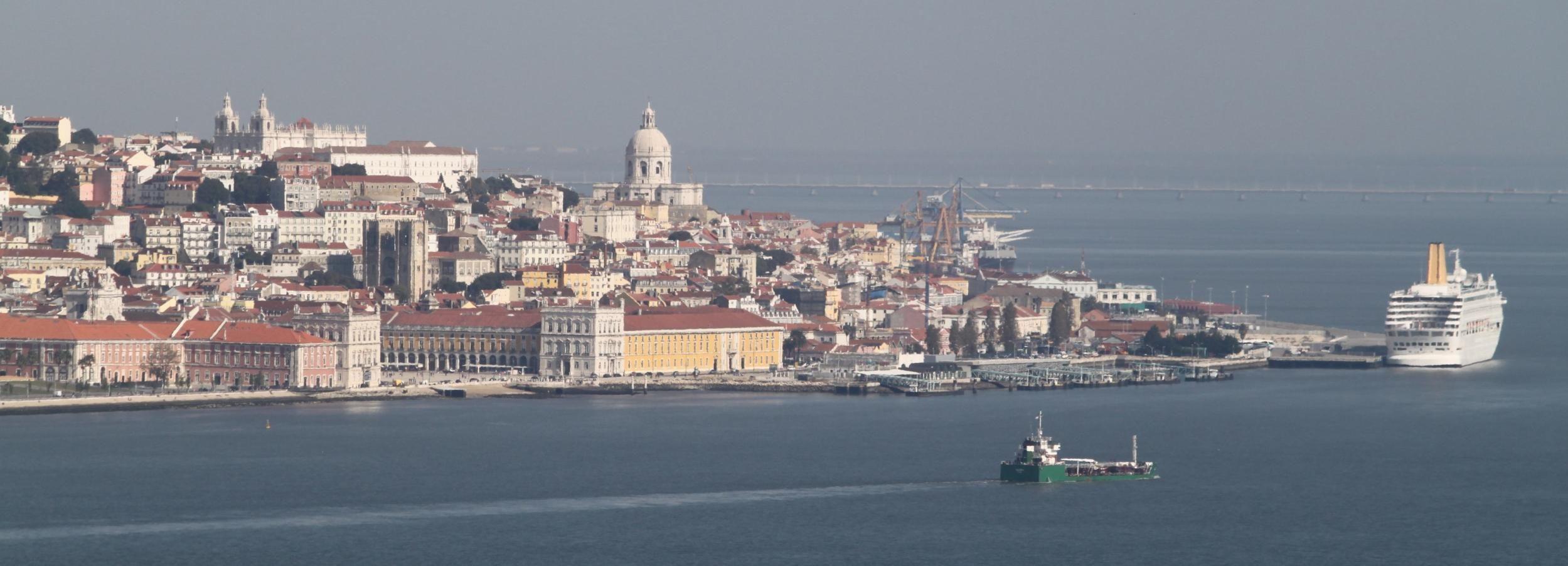 Lisbonne: visite à pied de 2h depuis le port de croisière