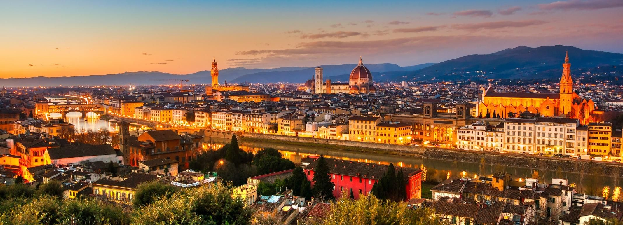 Florenz: E-Bike-Tour am Abend mit Gelato-Verkostung