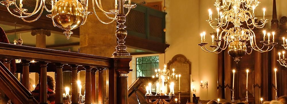 Amsterdam: Candlelight Concert at Portuguese Synagogue