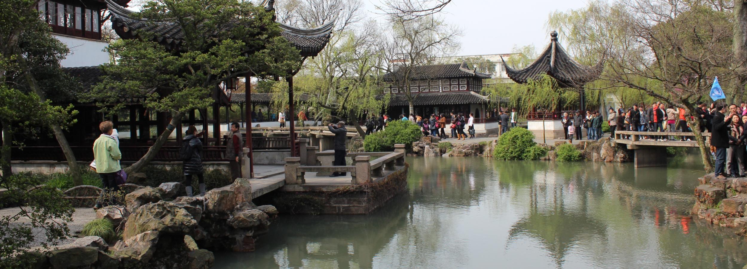 Tour de un día a Suzhou privada de Shanghai en tren rápido