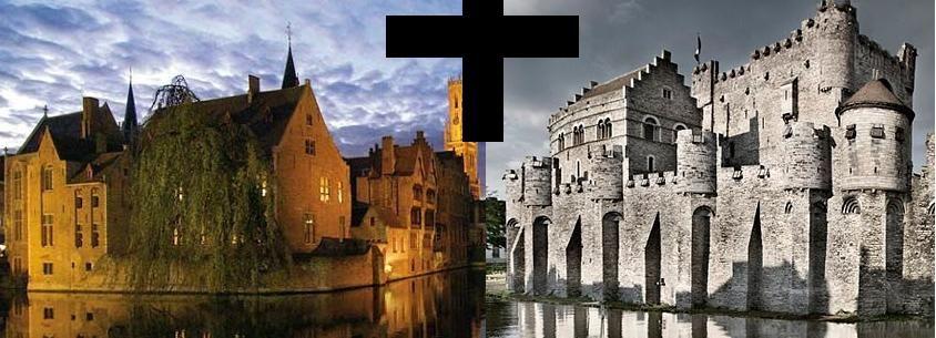 De Bruxelas: Excursão Guiada de 1 Dia a Bruges e Gante