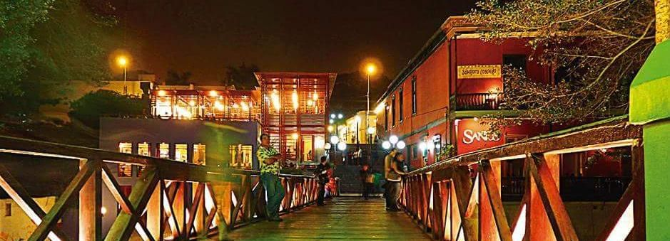Lima: 3-Hour Dinner Show and Barranco District Tour