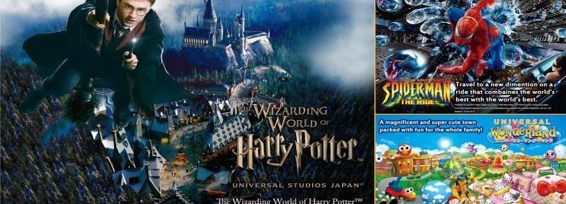 Osaka: Universal Studios Japan Eintrittskarten & Transport