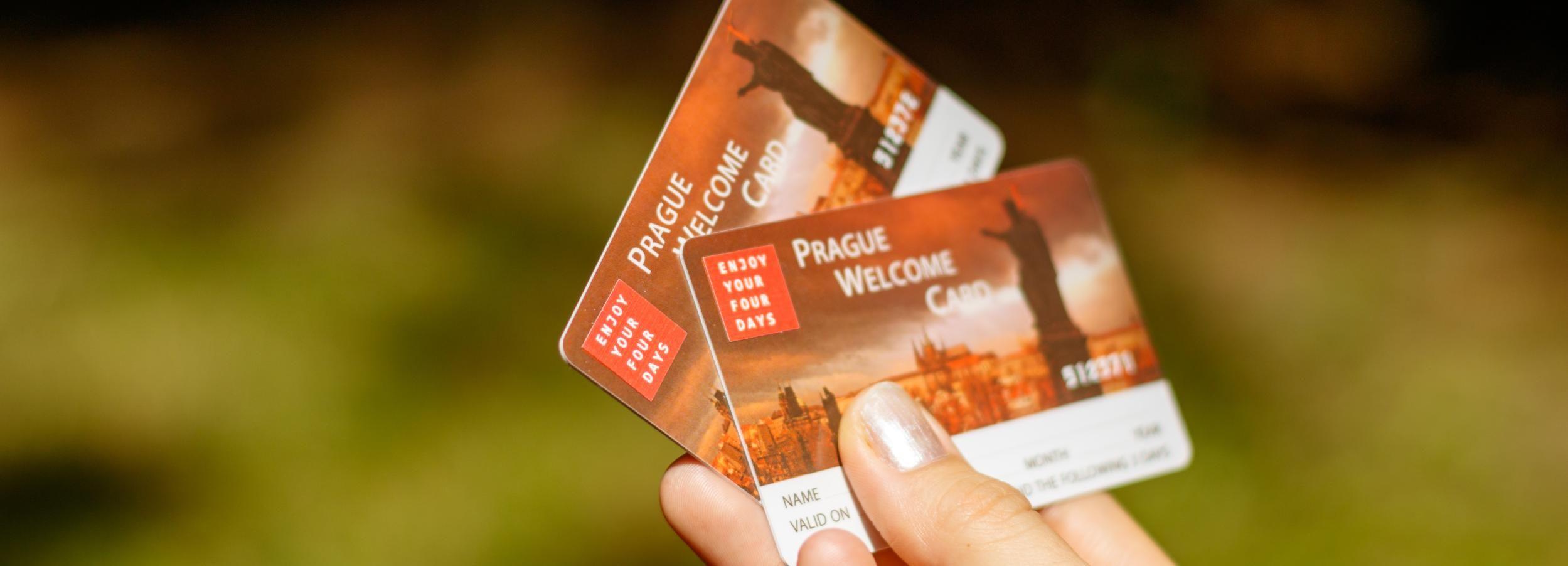Praag Welcome Card