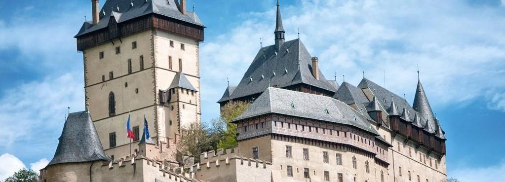 Vanuit Praag: halve dagtocht naar kasteel Karlštejn