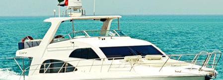 Dubai Yacht Cruise 55 pieds (2 heures)