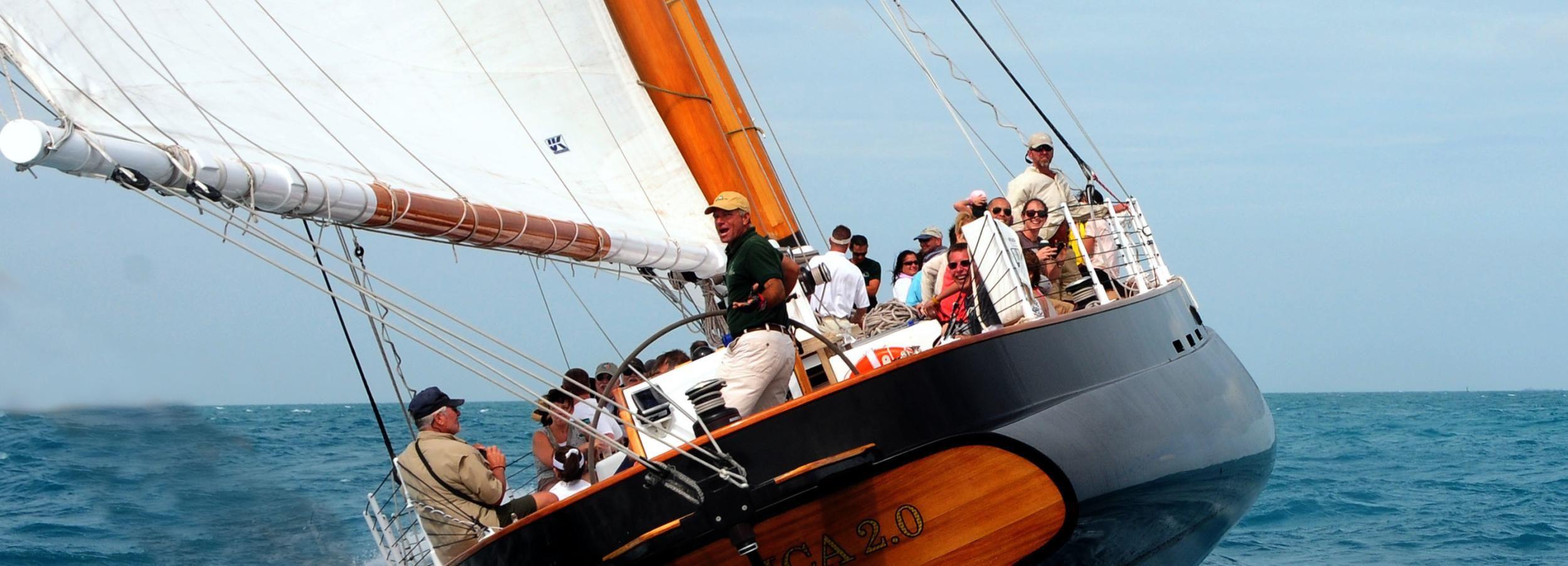 Key West: 1.5-Hour Sail on the Schooner America 2.0
