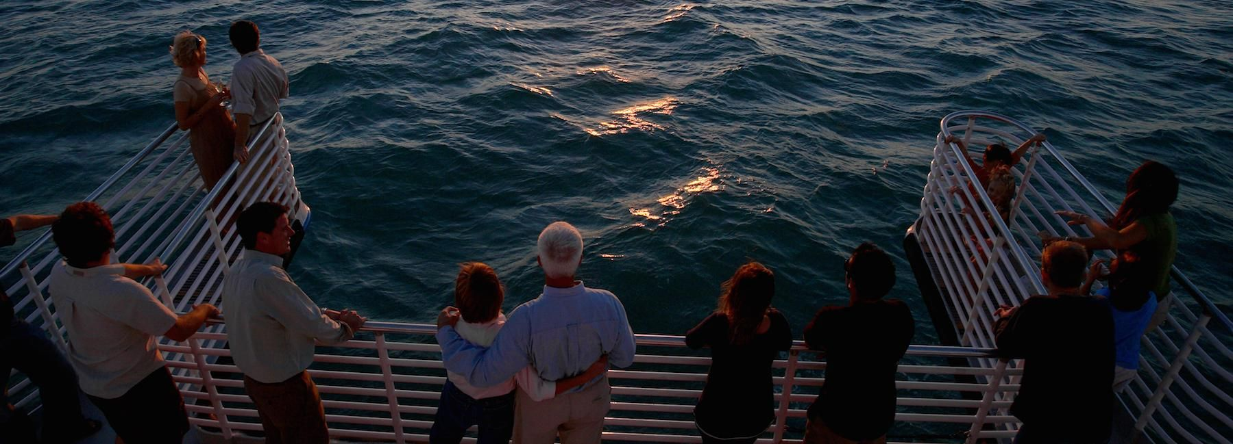 Key West: Glass-Bottom Boat Sunset Cruise and Reef Tour