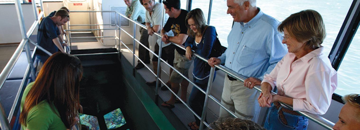 Key West Glass-Bottom Boat Reef Eco Tour