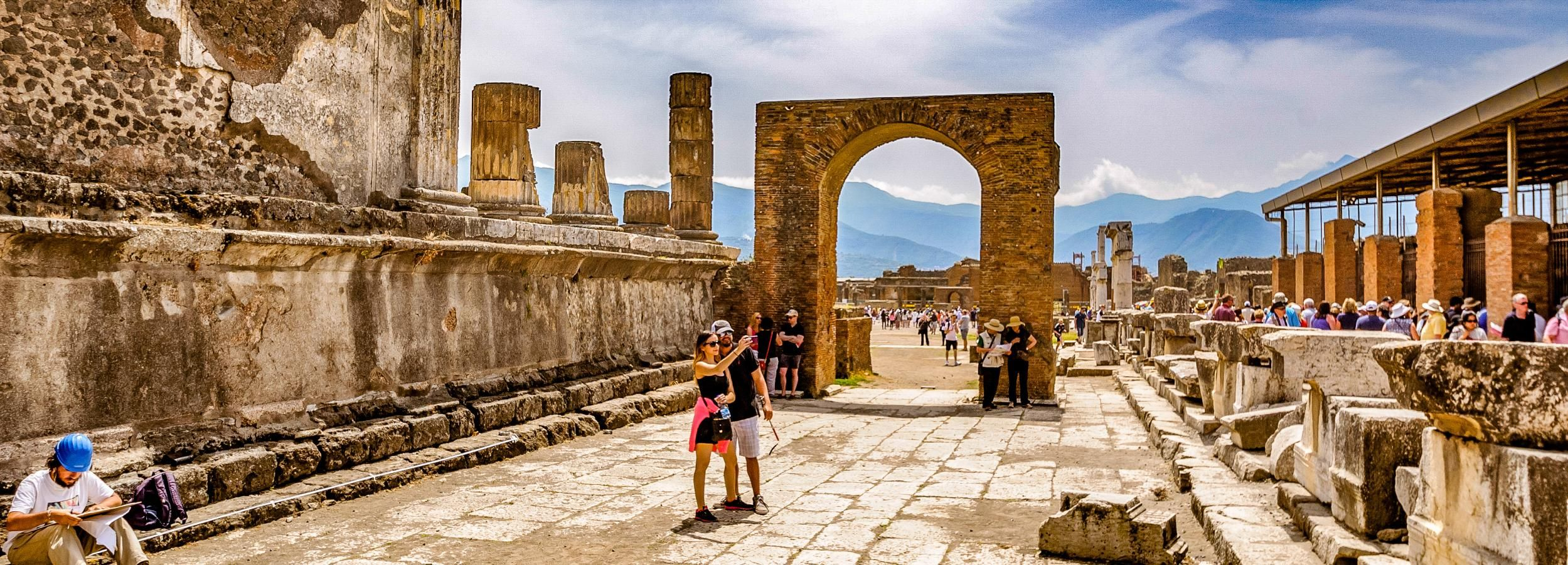 From Rome: Pompeii Day Trip