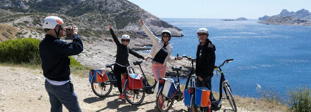 Calanque de Callelongue: Shore Excursion Electric Bike Tour