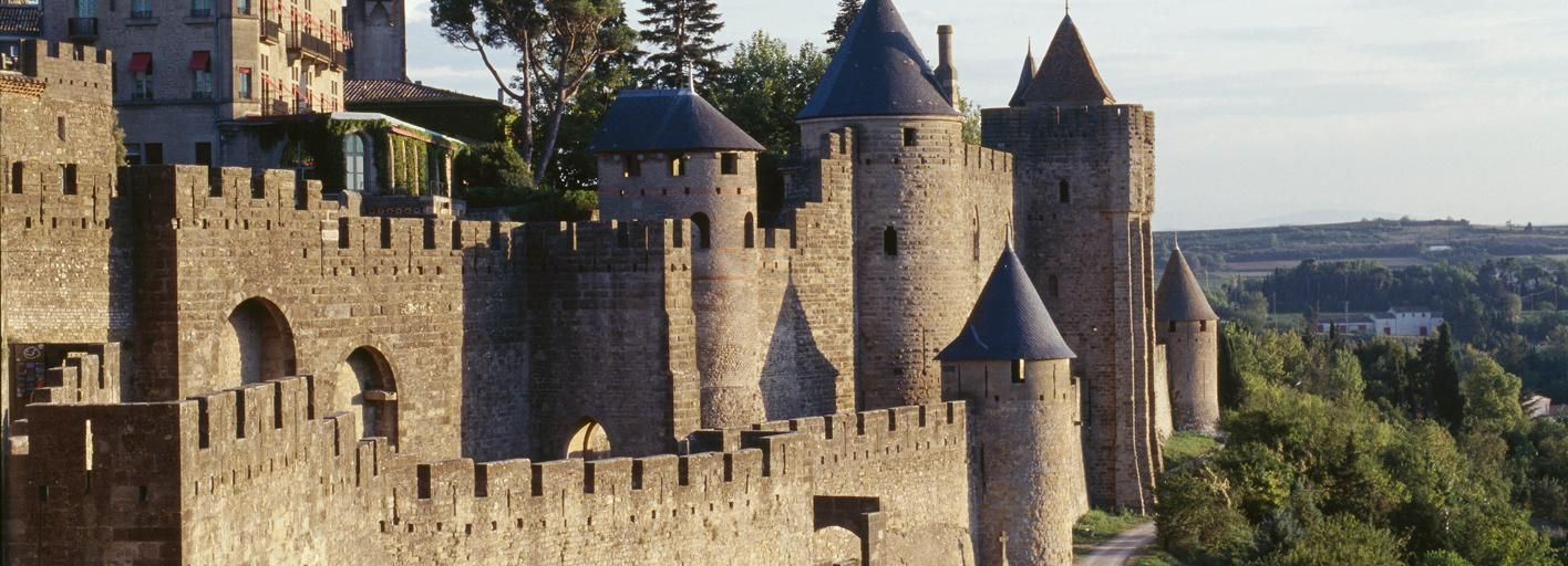 Carcasona: ticket sin colas para castillo y murallas