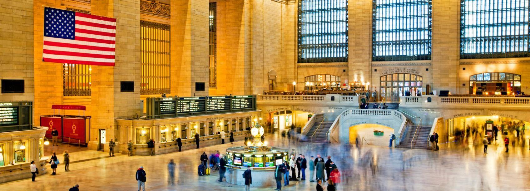 New York: visite guidée nocturne en bus