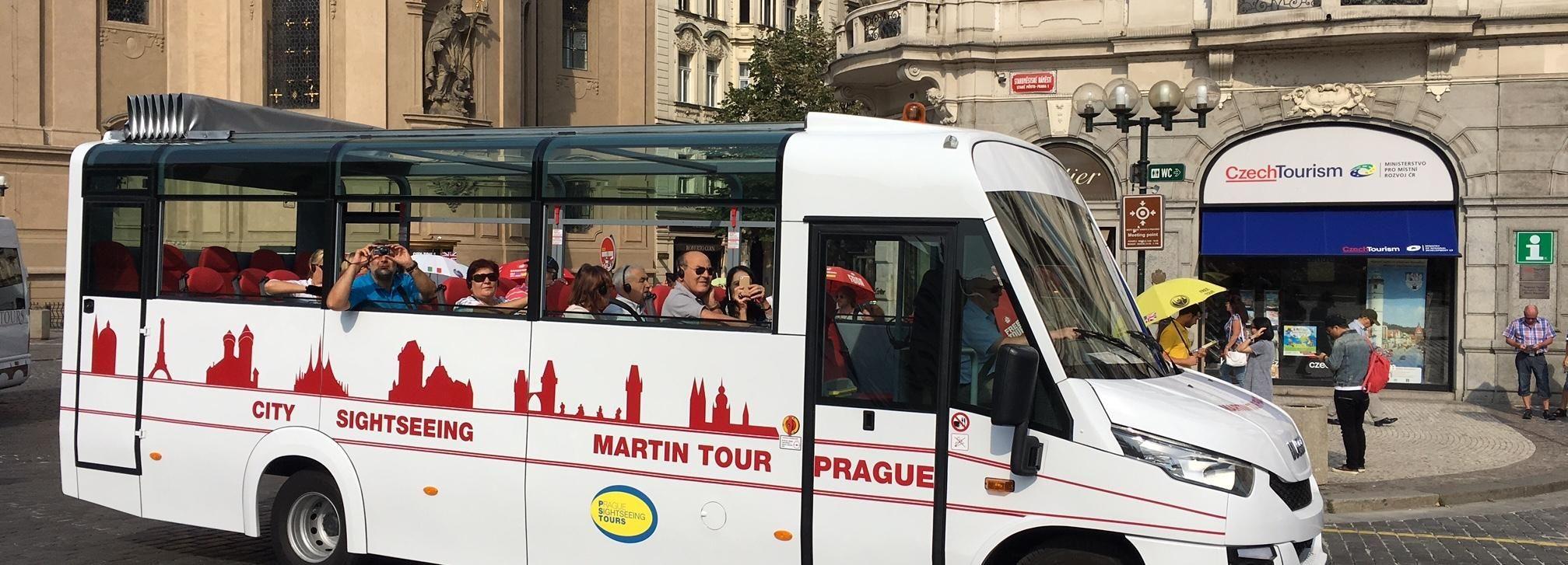 Prague City: 1-Hour Orientation Tour by Bus