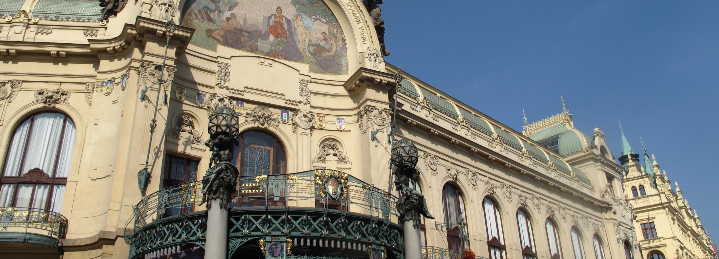 Prag: Private Kubismus & Art Nouveau Rundgang