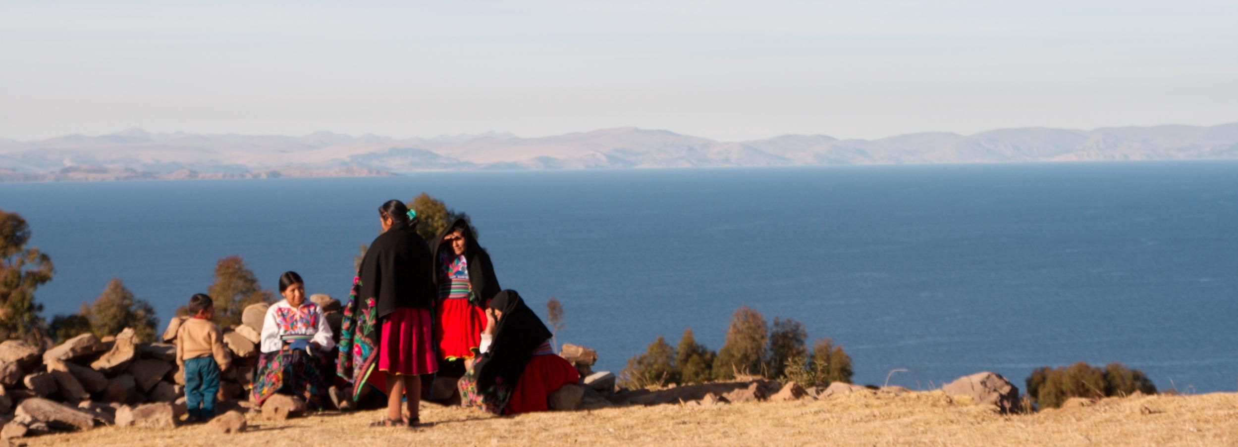 From Puno: 2-Day Amantani Island Tour
