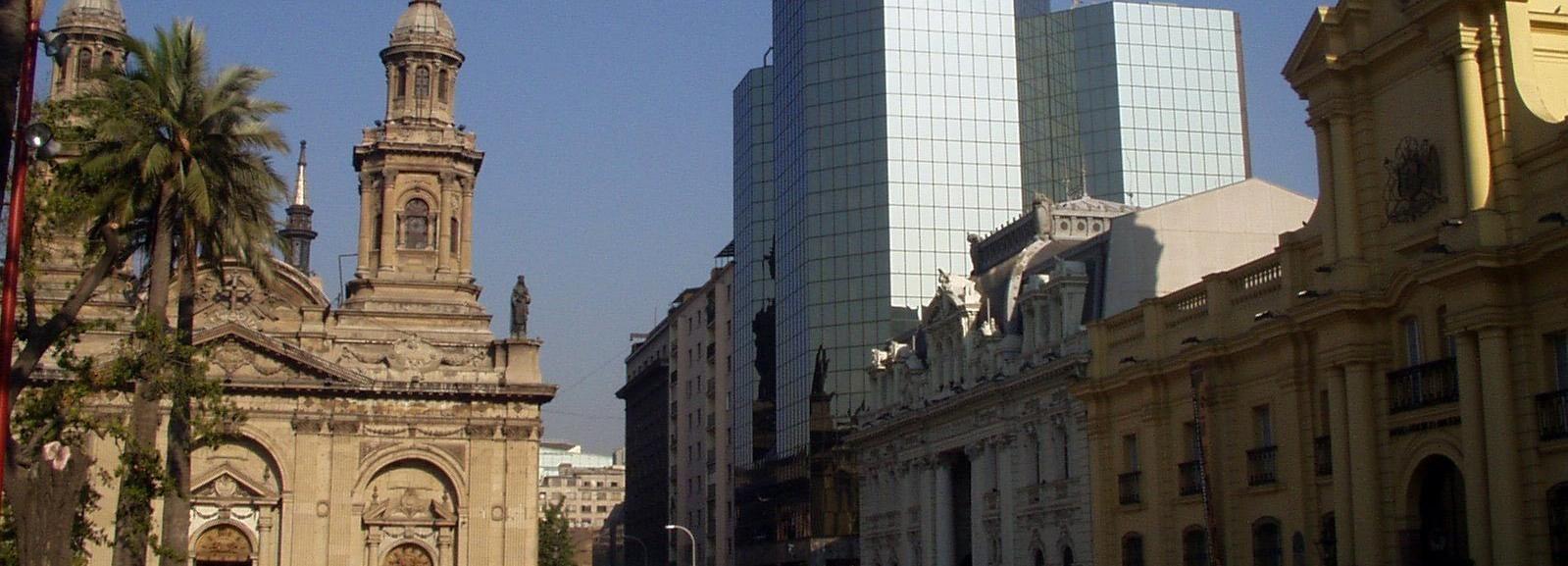 Willkommen in Santiago: Privattour mit einem Einwohner