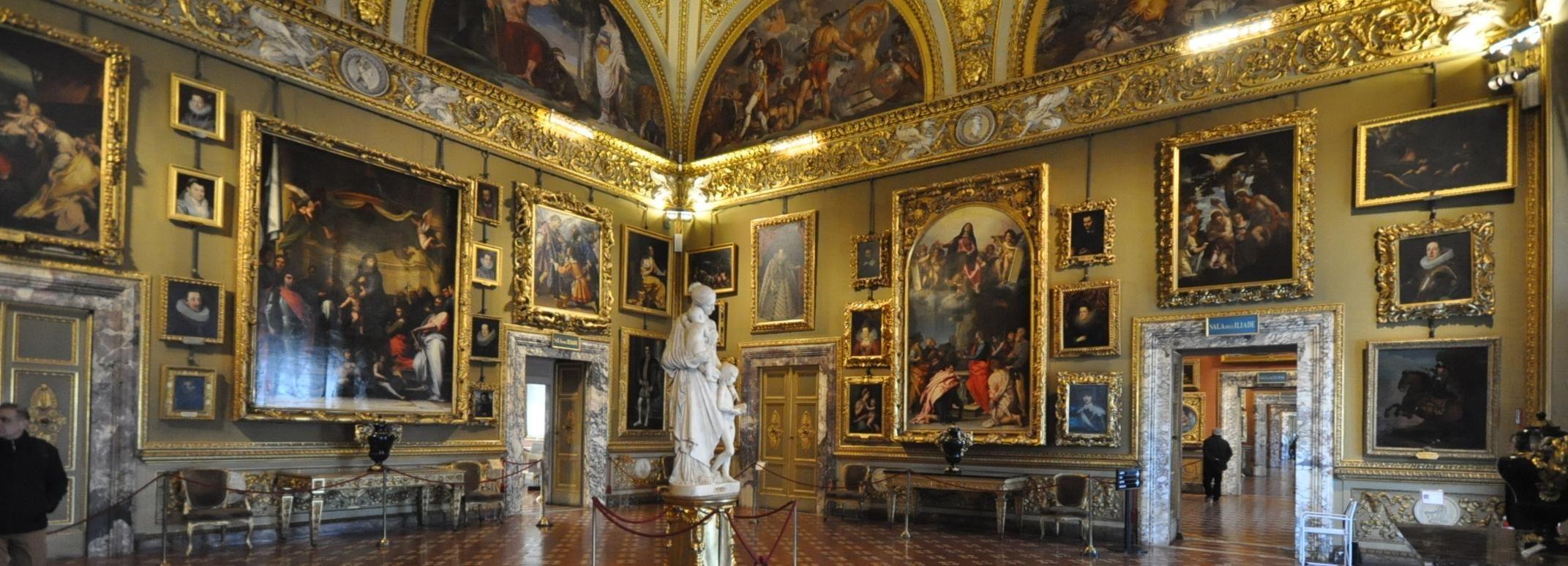 Pitti Palace, Boboli Gardens and Palatina Gallery Tour