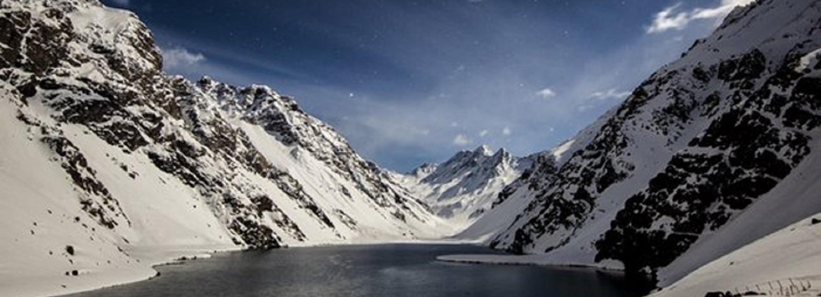 Portillo Ski Resort and Lagoon Private Trip from Santiago